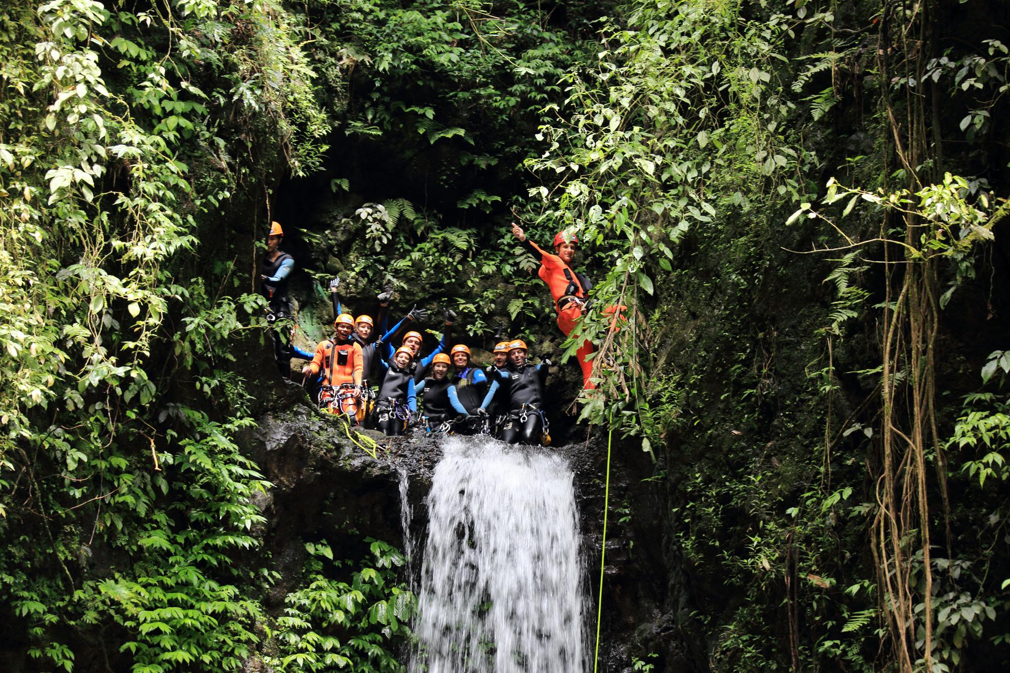 Canyoning_Bali_-_Adventure_&_Spirit_-_2_Kalimudah_abseil_champuan_-_Bali_canyoning
