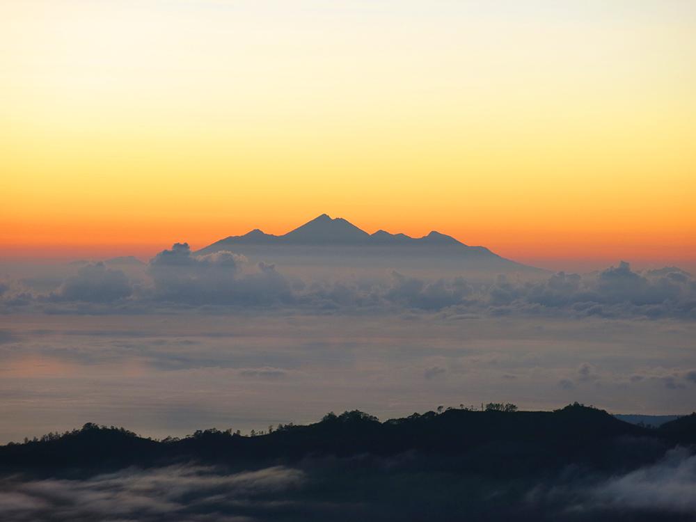 View of Mount Rinjani