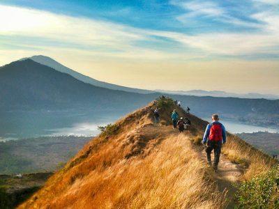 Sunrise trekking at Batur