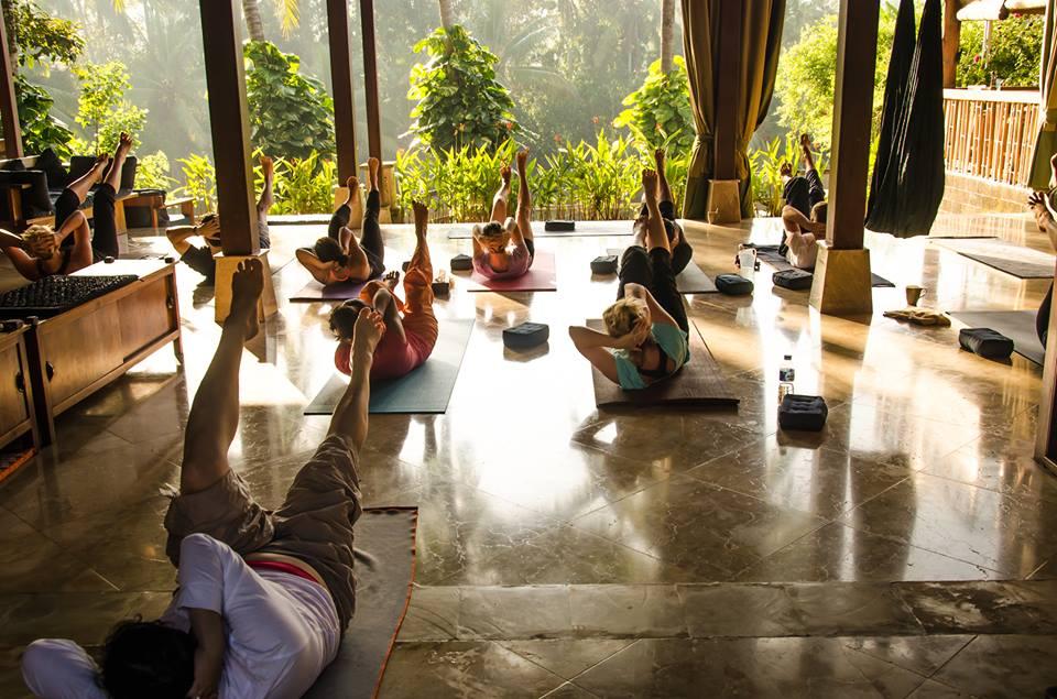In villa Yoga