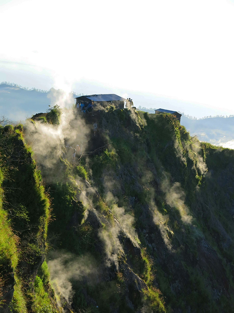 Trail of Mount Batur