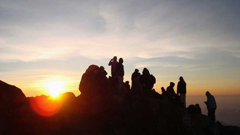 Sunrise at Mount Agung