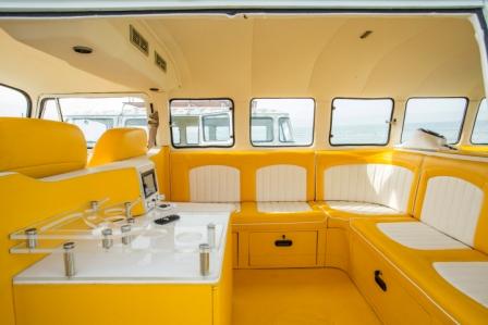 VW Limo Bali mellow yellow interior